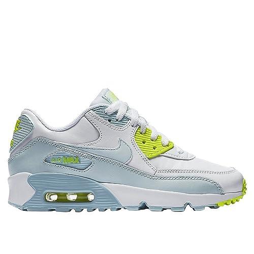new concept 9bbd8 7cb4f Nike - Air Max 90 Ltr Whiteblue - 833376100 - Color  Light blue-White -  Size  3.5  Amazon.ca  Shoes   Handbags
