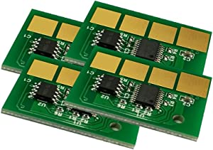 4PCS Compatible chip for Dell 5530DN 5535DN cartridge chip (Yield: 36000)