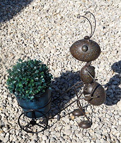 Precioso Jardín Figura hormiga