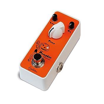 EAGLETONE Pumpkin Pedal de efecto de compresor para guitarra, color naranja: Amazon.es: Instrumentos musicales