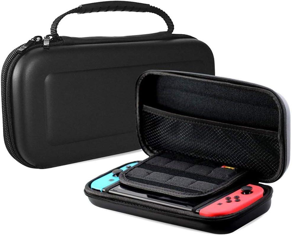 Deco Gear - Funda rígida para Nintendo Switch, color negro: Amazon.es: Electrónica