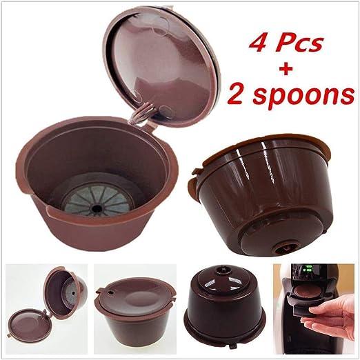 Copas de filtro compatibles para cafeteras y cápsulas de café, 4 ...