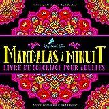Mandalas à Minuit: Livre De Coloriage Pour Adultes: Illustrations sur un fond noir