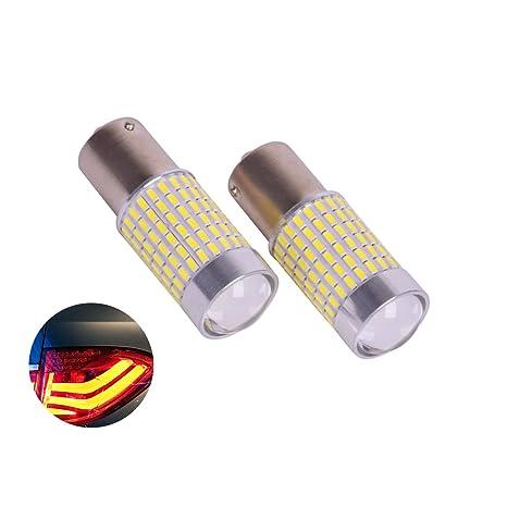 LED intermitente luces por eyourlife, PX chipsets blanco/amarillo 1156 (muy Super brillante