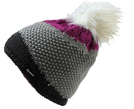 Eisbär Mütze Eden Lux Crystal mit Swarovski Elementen