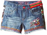 Desigual Toddler Girls' Fernan Denim Trousers, Azul Klein, 9/10