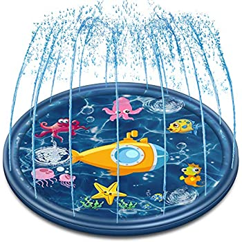 Amazon.com: G.I Quality Outdoor Water Play Sprinkler Pad ...