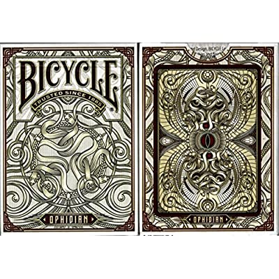Ophidian Bicycle Playing Cards Poker Size Deck USPCC Custom Limited Edition: Toys & Games