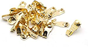 Antrader 30pcs Professional Picture Hangers, Metal No Trace Hook Photo Frame Accessories Creative Hanging Kit with Screws for Wall Mounting, Supports Up to 20lbs