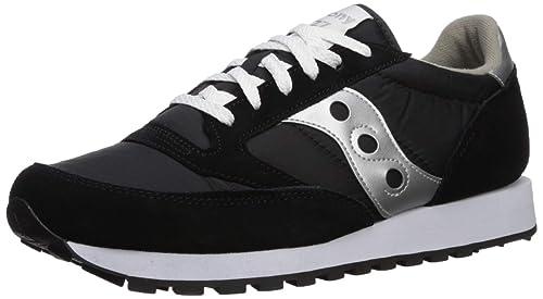 Saucony Jazz Original, Zapatillas de Cross para Hombre, Negro (Black/Silver), 43 EU: Amazon.es: Zapatos y complementos