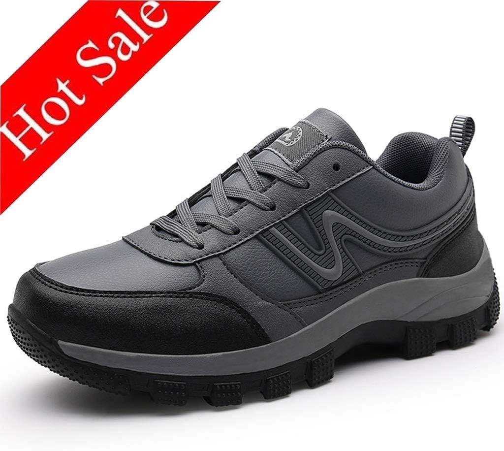 Zpyh Men's Waterproof Hiking Shoes