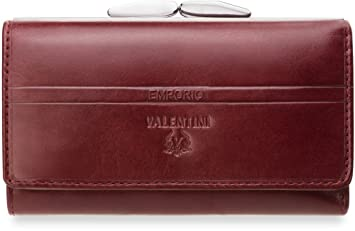 b0db9079a5621 Leder Damen – Geldbörse Portmonnaie mit Bügel EMPORIO VALENTINI ...