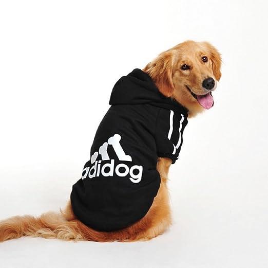 3 opinioni per Costume felpa nera con cappuccio Adidog per cane e gatto taglia L