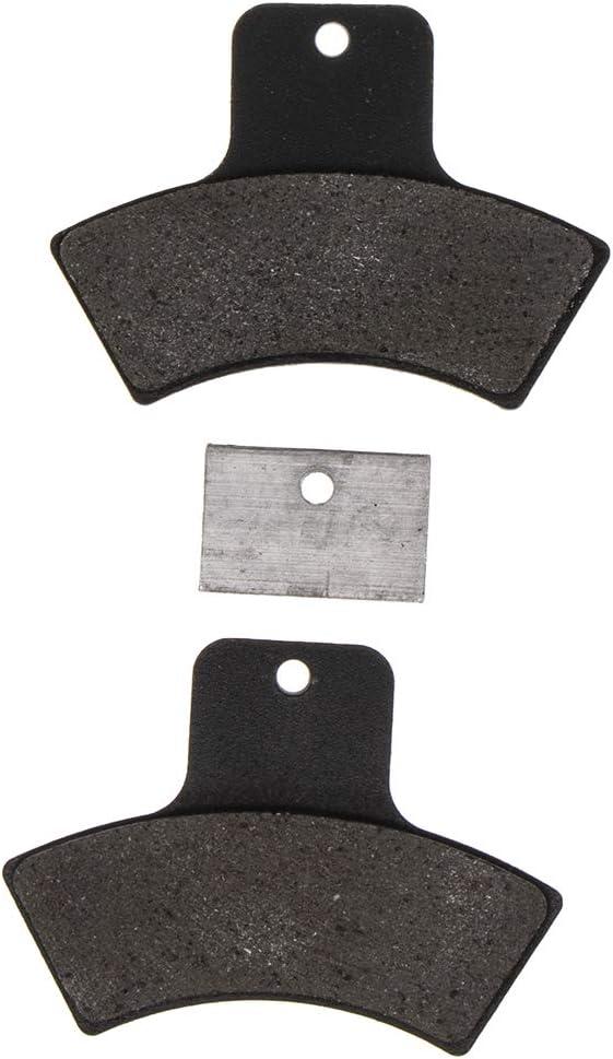 NICHE Brake Pad Set For Polaris Sportsman 400 500 570 800 Scrambler 850 Replaces 2203628 Front Rear Semi-Metallic 4 Pack