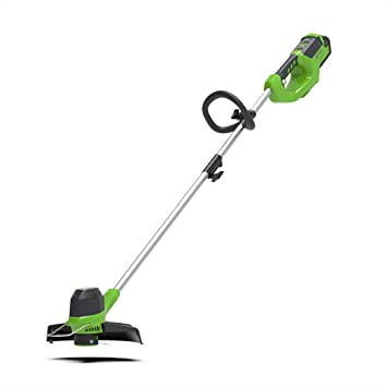 Greenworks Tools Strimmer - Best Pivoting Head