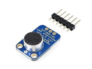 Adafruit 1063 Electret Microphone Amplifier - MAX4466 with Adjustable Gain
