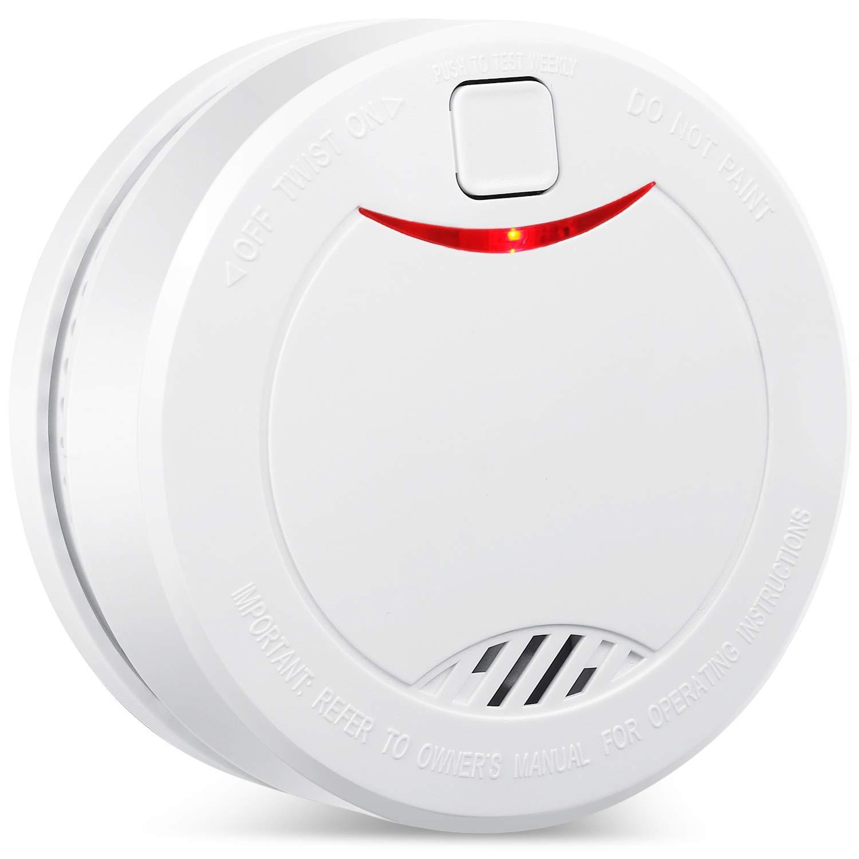 Alarma de Humo Independiente de 10 añ os con baterí a HEIMAN, VDS, BOSEC, EN14604, Detector de Humo con certificació n CE, Sensor fotoelé ctrico con Modo de Silencio y botó n de Prueba Alarm-626PHS (3)