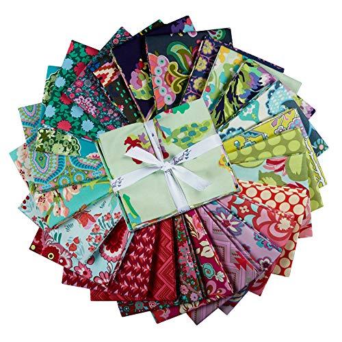 FreeSpirit Fabrics Farewell Amy 25 Piece Fat Quarter Bundle Fabric, Multicolor by Free Spirit Fabrics (Image #2)