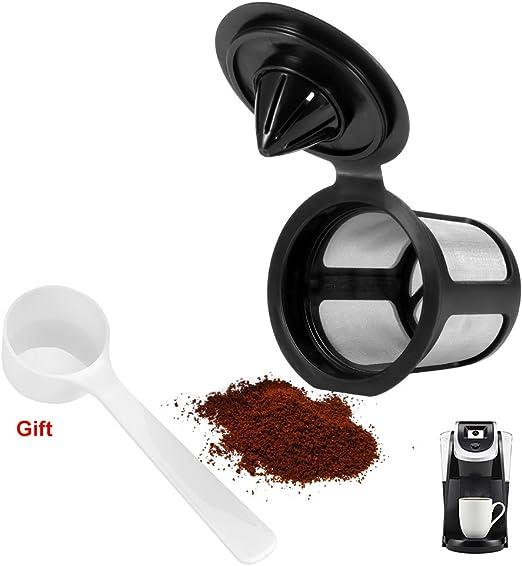 Amazon.com: Filtro de café K Cup reutilizable para cafetera ...