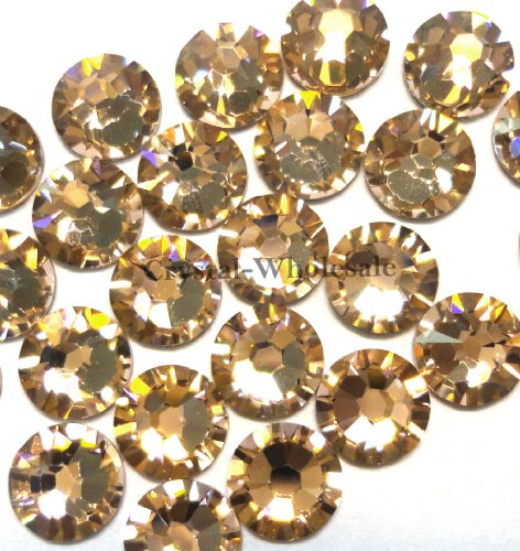 144 Swarovski 2058 Xilion/ NEW 2088 Xirius Rose 12ss 3.2mm flatback rhinestones nail art ss12 VINTAGE ROSE F **FREE Shipping from Mychobos (Crystal-Wholesale)**