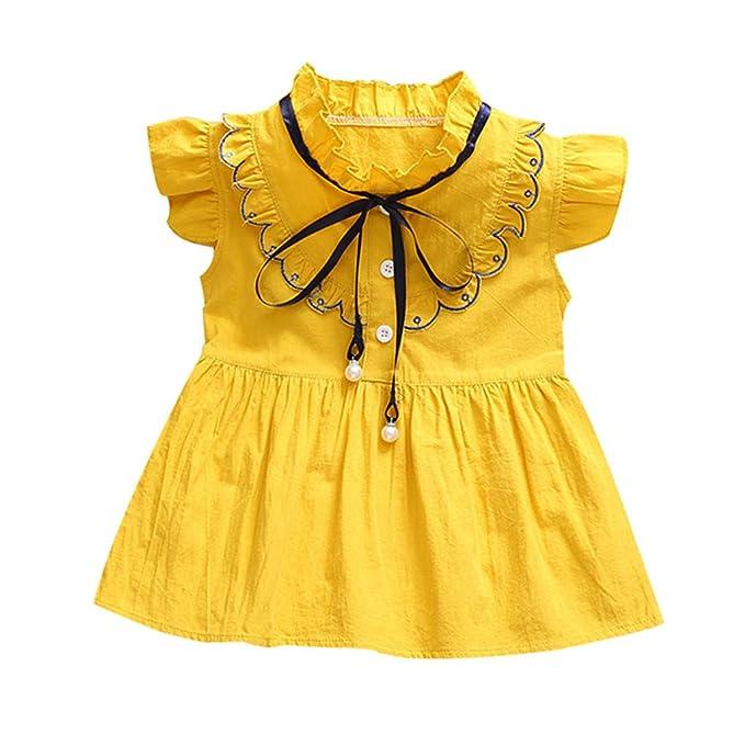 251927c2d9a7 Lonshell Trajes Lindos del Vestido de para los niños recién Nacidos Flores  del bebé del niño