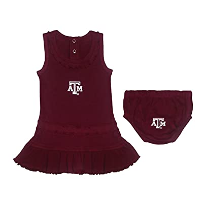 Creative Knitwear Texas A&M Aggies Ruffled Tank Top Dress with Bloomer Set