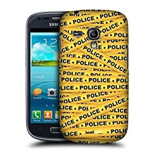 Yellow Police Warning Tape Case For Samsung Galaxy S3 Iii Mini I8190