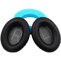 YOMYM Bose QC25 quiet and comfortable 25 earphone ear pad replacement pad, QC15, QC35, AE2, AE2I ear pad(Black)