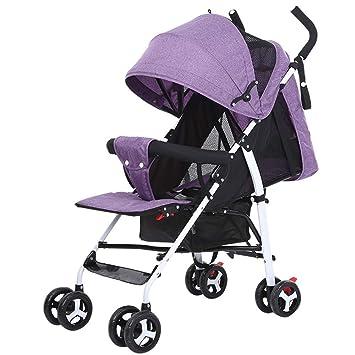 El cochecito del bebé puede sentarse Reclinable Ultra Ligero ...