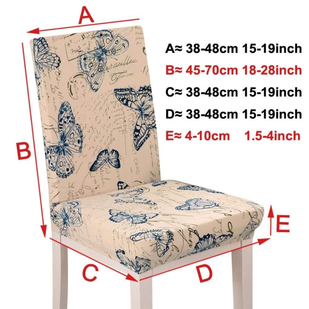 Amazon.com: Hakazhi Inc Pure Color Stretch Chair Cover Seat ...