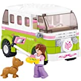 Sluban Camper Girls Dream Building Kit (158 Pieces)