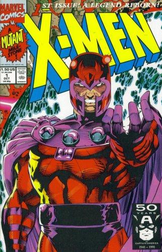 X-Men #1 CGC 9.6 MAGNETO VARIANT Jim Lee Art CUSTOM LABEL 1991 NM//MT