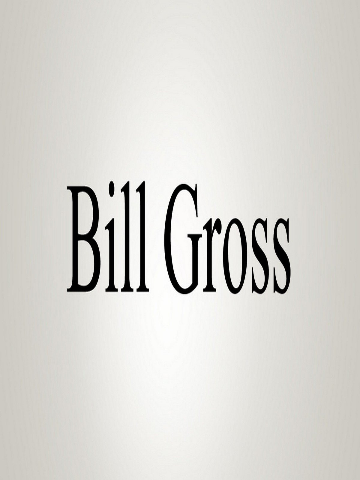 Watch How To Pronounce Bill Gross  Prime Video