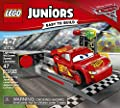 LEGO Juniors Lightning McQueen Speed Launcher 10730 Building Kit from LEGO