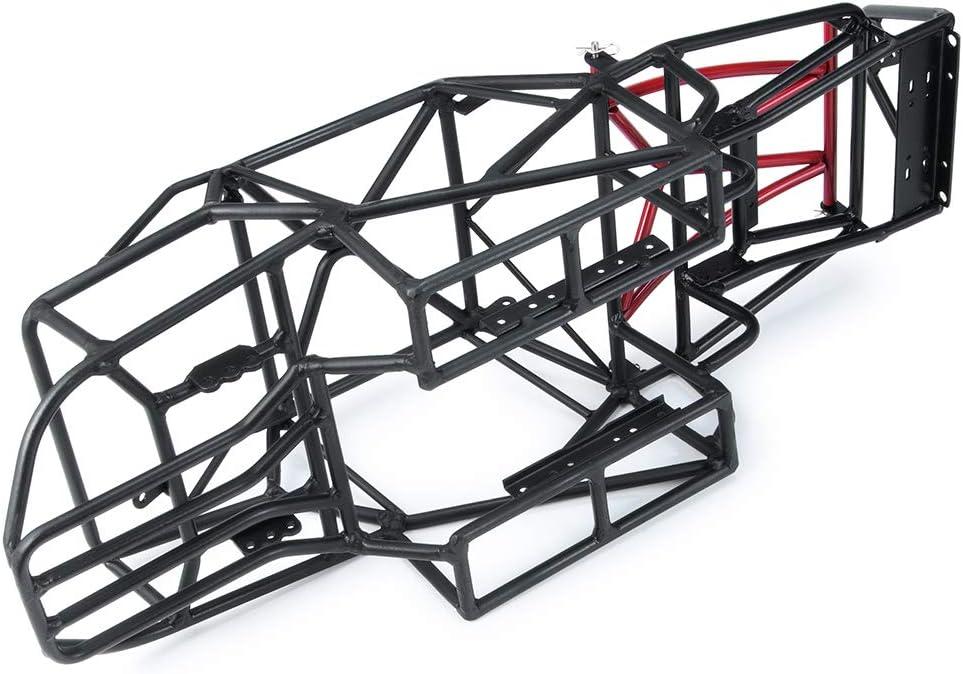 XUNJIAJIE Stahl /Überrollk/äfig Roll Cage K/äfig Chassie f/ür 1//10 Crawler Modell Auto Axial SCX10 59000