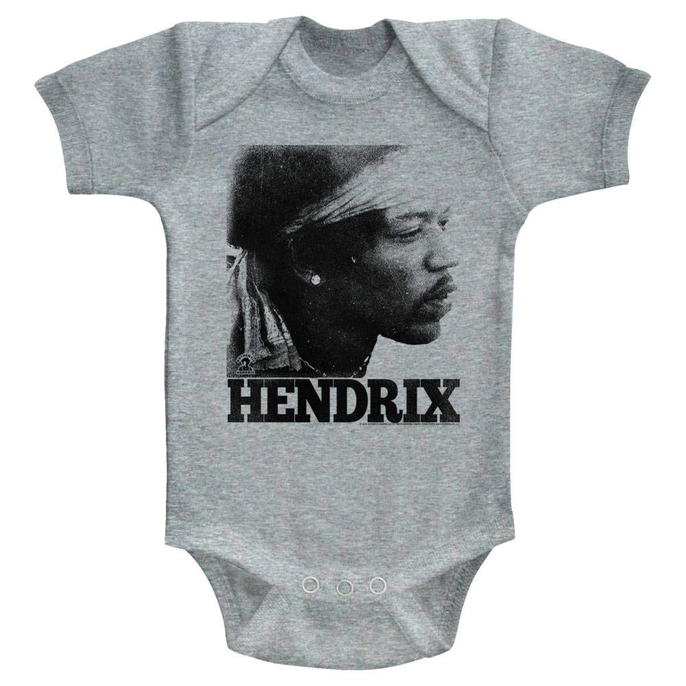 Jimi Hendrix Unisex-Baby Vintage Gesicht Strampelanzug