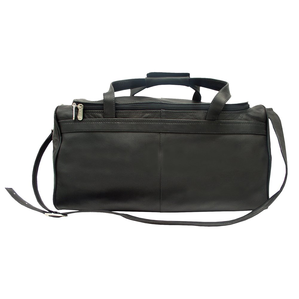 Piel Leather Travelers Select Small Duffel Bag One Size Black