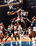 Dr J Julius Erving New Jersey Nets ABA Autographed Signed 8 x 10 Photo - COA - NM/MT - MT Condition!