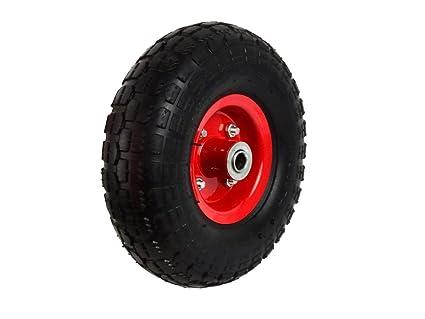 4.10/3.50 – 4 ruedas para carretilla rueda de repuesto Rueda Rueda Cochecitos de rodamiento de bolas