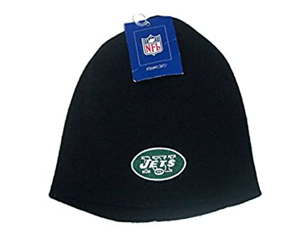 d1f6a82d Amazon.com : New York Jets Youth Cuffless Knit Beanie Hat Cap - Kids ...