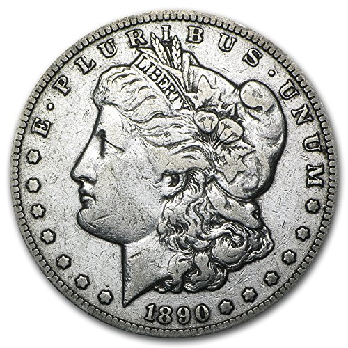 1890 CC Morgan Dollar VF $1 Very Fine