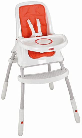 f4a7d53687e Buy Fisher-Price Grow-with-Me High Chair Online at Low Prices in India -  Amazon.in
