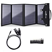 Deals on Rockpals 100W Foldable Solar Panel Charger for Suaoki Generator