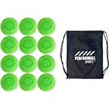 Signature Lacrosse Bundle (12-Ball) Lacrosse Balls NCAA NHFS NOCSAE & SEI Approved with 1 Performall Sports Drawstring Bag