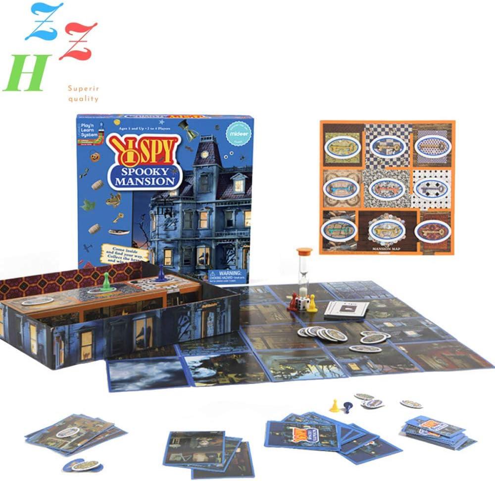 ZZH Juego Exclusivo Escape Room, Compendio Juegos Clásicos, Dados Juegos, Juegos Mesa, Principiante, Paquete Familiar 1-4 Jugadores, Edades 8,A: Amazon.es: Hogar