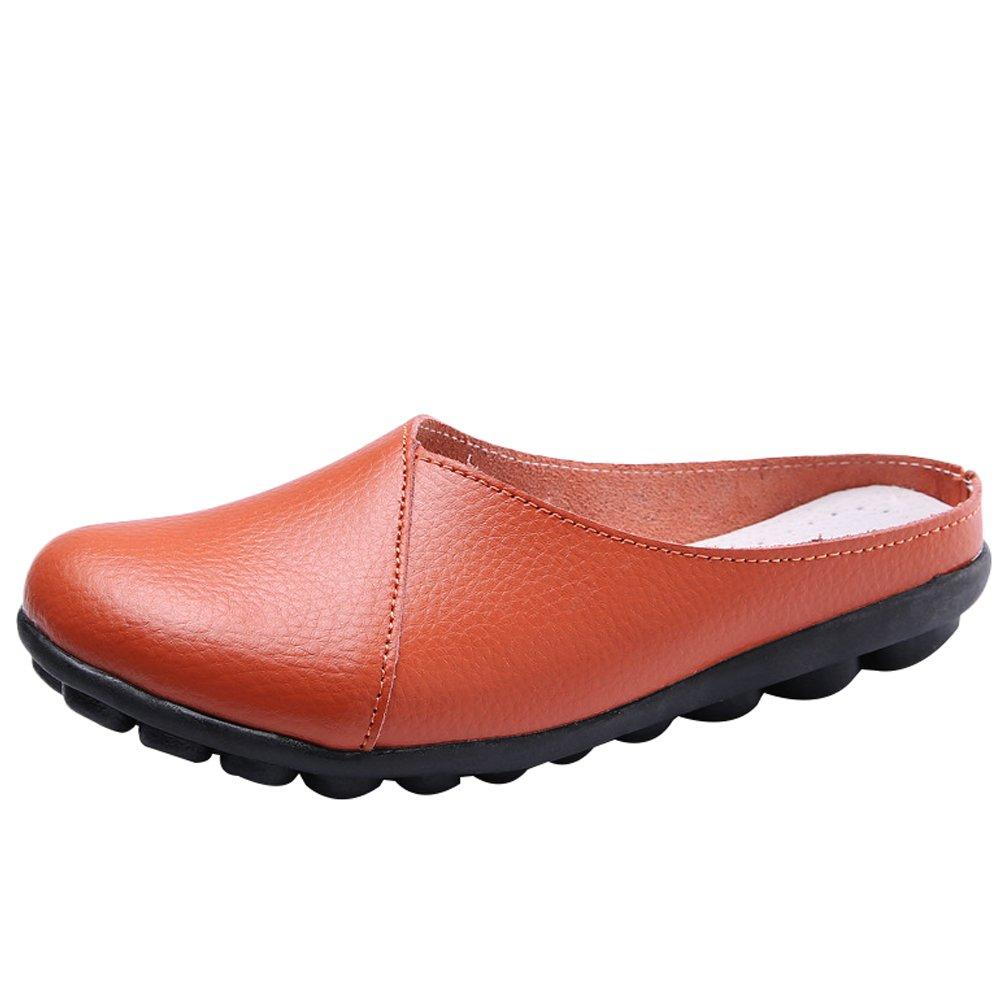 MatchLife 11070 Femmes EU 34-42 MatchLife Babouche Style Sandales Style ZARA chaussures En Cuir Chaussons Pantoufles Style2-orange d41b088 - epictionpvp.space