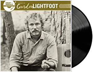 Drop The Needle On The Hits: Best Of Gordon Lightfoot - Exclusive Limited Edition Black Vinyl LP