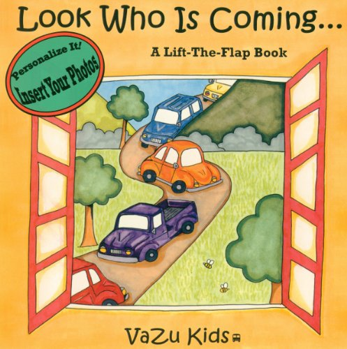 (Look Who Is Coming, Personalized Book)