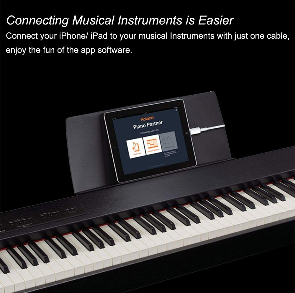 How to connect a music keyboard