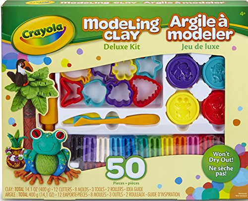 Crayola Modeling Deluxe Pieces Pliable